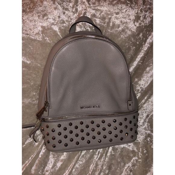 fc29b98d65de Michael Kors Bags   Medium Rhea Studded Backpack   Poshmark